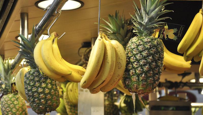 ananas banán