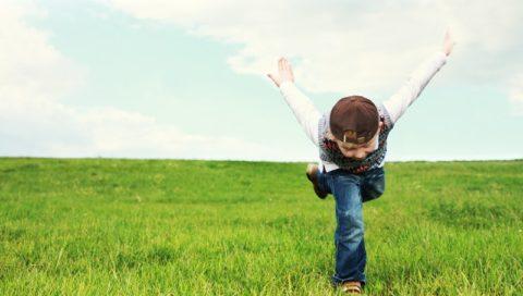 dítě pole