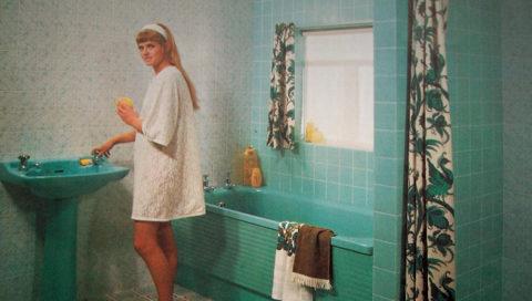 Koupelna, 70. léta