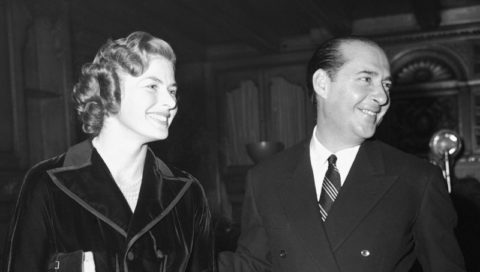 Roberto Rosselini a Ingrid Bergmanová