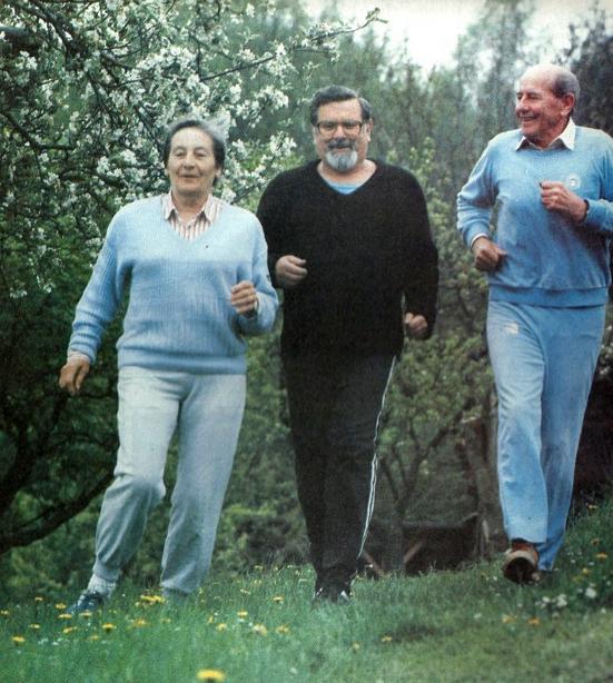 Buď fit – Zátopkovi a František Nepil