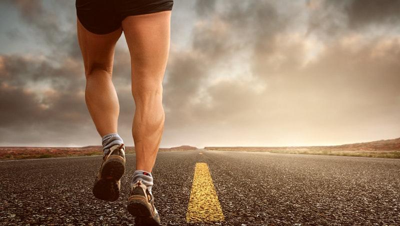 nohy bežec cesta