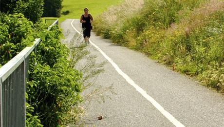cesta bežec