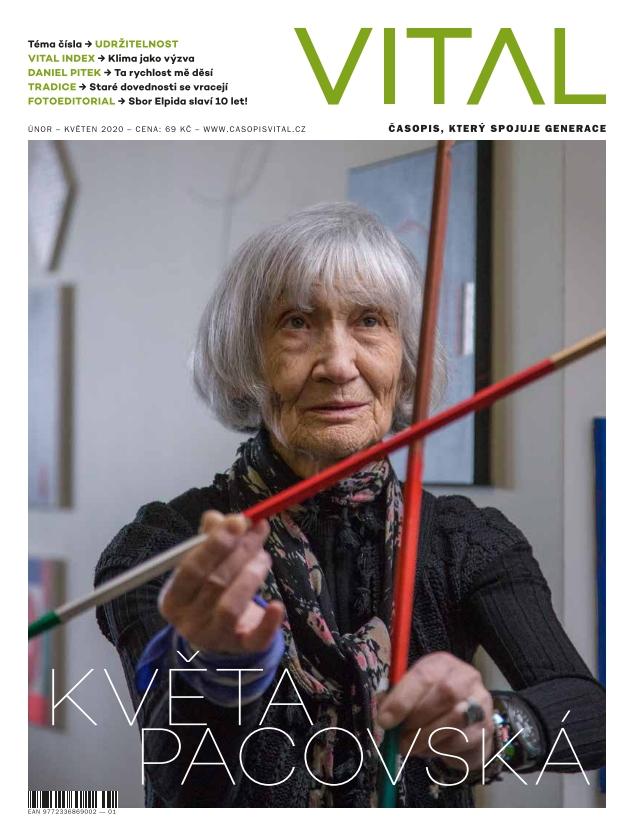 Obálka časopisu Vital