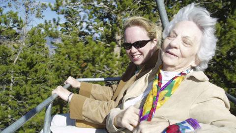 babička horská dráha