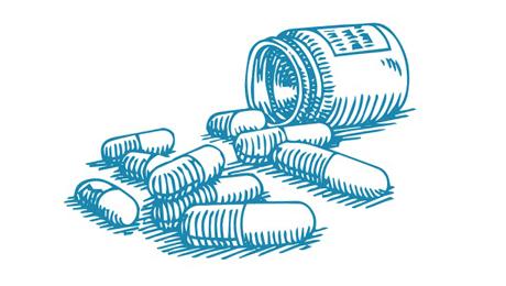 Léky ilustrace