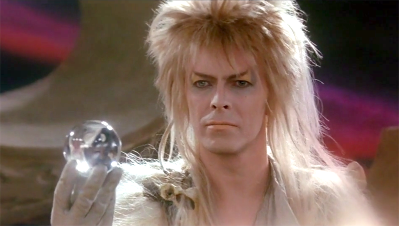David Bowie in 1986 film, Labyrinth
