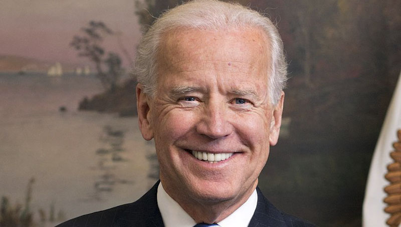 Cropped official portrait of Vice President Joe Biden in his West Wing Office at the White House, Jan. 10, 2013. (Official White House Photo by David Lienemann)