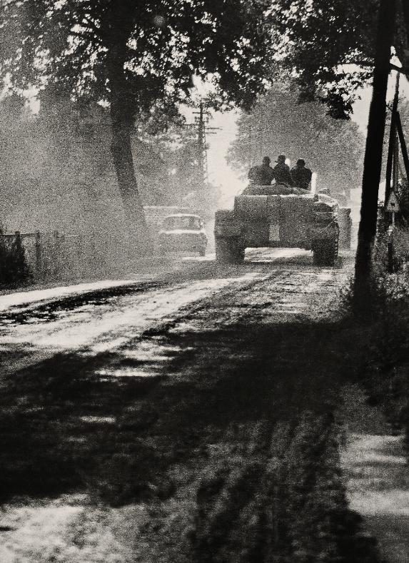 Miroslav Župník, Klčov u Levoče, dopoledne 21. srpna 1968